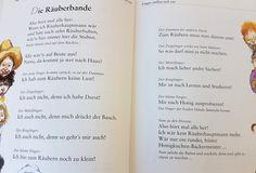 Die Räuberbande #fingerspiel #krippe #kita #kindergarten #kind #reim #gedicht #erzieherin #erzieher