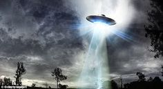 The cache of 15 files, which have been published by the National Archives, contain details of sightings of UFOs seen all over the country (stock image)