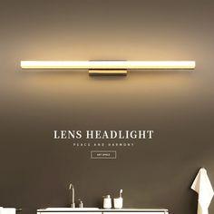 27fa16b2f36 Pas cher Lampes murales de salle de bains 40 cm 60 cm mur LED lumière  moderne