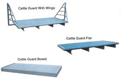 Cattle Guards for private use