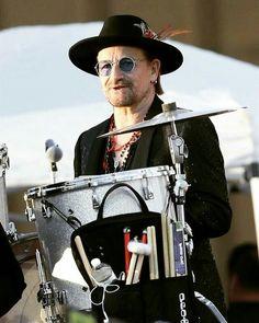 It seems 2017 by Bono's John Lennon glasses.