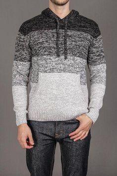 Men's Hand Knit Sweater 90B