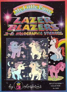 Lazer Blazers My Little Pony