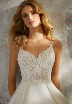 Wedding Dresses Photos, Wedding Dresses Plus Size, Dream Wedding Dresses, Designer Wedding Dresses, Lace Dresses, Flower Dresses, White Lace Wedding Dress, Wedding Dress Sleeves, Perfect Wedding Dress