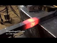 How to make a sheet metal Marking Gauge. Swallow Forge. Blacksmiths Tools No.15 - YouTube
