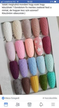 Ideas for nails christmas designs fashion nail art designs 2019 french tip nail designs for short nails self adhesive nail stickers nail art sticker stencils nail art stickers online Christmas Manicure, Xmas Nails, Holiday Nails, Christmas Nails 2019, Cute Nails, Pretty Nails, Christmas Nail Art Designs, Christmas Ideas, Sweater Nails