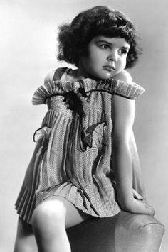 Darla Hood (Darla from the Little Rascals)...my first crush....