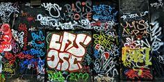 Graffiti wall (Viena, Austria)