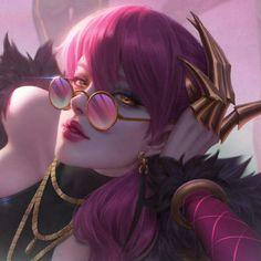 Lol League Of Legends, Evelynn League Of Legends, League Of Legends Characters, Girls Anime, Manga Girl, Liga Legend, Lol Champions, Gothic Fantasy Art, Body Art Photography
