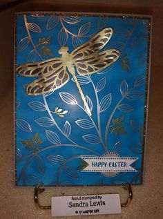 Dragonfly and Springtime Foil DSP