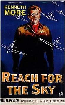 Reach For The Sky (1956) starring Kenneth More as Douglas Bader. My grandfather took me.