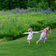 Perfect Summer shot of Hubert Schriebl's granddaughter Liv and her friend. #vermont #vermonting #visitstratton #802 #vermontbyvermonters #hiking #outdoorliving #countrylife #farmlife #beautiful #outdoors #thisisvermont