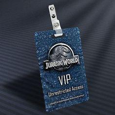 Jurassic World - VIP Prop ID Badge