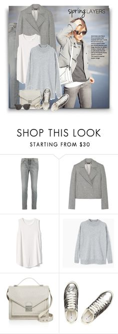"""""""Untitled #152"""" by craftsperson ❤ liked on Polyvore featuring dVb Victoria Beckham, Wes Gordon, Gap, MANGO, Loeffler Randall, Dorothy Perkins, Gentle Monster and coloringjeans"""