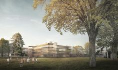 Damit die Ziele der Schulharmonisierung und der Tagesbetreuung erreicht werden, plant der Kanton Basel-Stadt in der Nähe des Badischen Bahnhofs eine Erweiterung der bestehenden Schulanlage Sandgruben. Angrenzend an ein barockes Landgut verzahnt sie sich mit dem wertvollen Baumbestand. Dieses fragile …