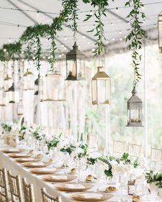 Drop wedding decor, suspended floral designs