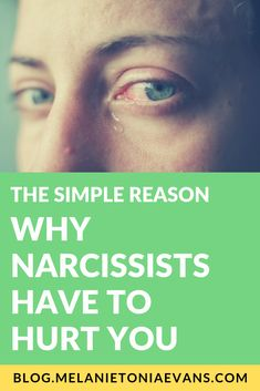 The Simple Reason Why Narcissists Have to Hurt You Narcissist And Empath, Narcissistic People, Narcissistic Abuse Recovery, Narcissistic Behavior, Narcissistic Sociopath, Self Absorbed People, Parallel Parenting, Self Medication, Transform Your Life