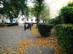 Marylebone Parish Church Gardens, London