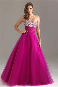 ballroom gown