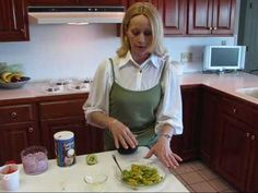 """In this video, Betty responds to a viewer request for a Guacamole dip recipe.  This is a wonderful version of Guacamole--everyone's party favorite!    Ingredients:    2 Haas avocados, peeled and cut into chunks (I put the chunks in a bowl and sprinkle them with a little lemon juice to keep them from turning brown while I get everything else prep...""  Follow her YouTube channel. It's worth it!!"