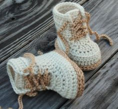 CROCHET PATTERN for Baby Boys Combat Boot Crochet Pattern Beige Crochet Baby Army Boots street shoes English Language Only - Baby Boy Shoes - Ideas of Baby Boy Shoes - Crochet Shoes Pattern for Baby Boys Combat Boot by Inventorium Crochet Baby Boots, Crochet For Boys, Crochet Slippers, Baby Blanket Crochet, Free Crochet, Crochet Cow, Easy Crochet, Crochet Shoes Pattern, Shoe Pattern