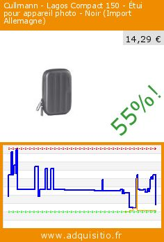 Cullmann - Lagos Compact 150 - Étui pour appareil photo - Noir (Import Allemagne) (Accessoire). Réduction de 55%! Prix actuel 14,29 €, l'ancien prix était de 32,00 €. http://www.adquisitio.fr/cullmann/lagos-compact-150-%C3%A9tui