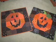 The Secret Closet's Home Sewing Classes: Happy Pumpkin Table Runner