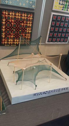 Tent Model, 1st year Architecture Department / University of Sulaimani