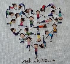 hepsüslüydüm: Kaneviçe Tablo-Yoga Aşktır