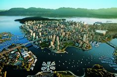 Vancouver is a coastal seaport city on the mainland of British Columbia, Canada. Vancouver is one of the warmest Canadian cities. Vancouver is the third largest Vancouver Skyline, Visit Vancouver, Downtown Vancouver, Vancouver Travel, Vancouver Tours, Places Around The World, Around The Worlds, Granville Island, Nature View