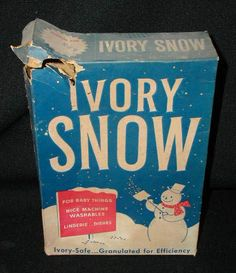 We didn't use this for laundry.  My mom kept a box and at Christmas, we mixed some water with it in a bowl. Then we would scoop some out with our cupped fingers and put it on the branches of our tree.  It looked just like snow.