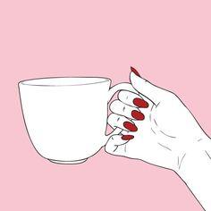 Hands coffee......girls