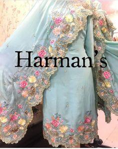 Bridal Suits Punjabi, Punjabi Suits Party Wear, Wedding Salwar Suits, Party Suits, Embroidery Suits Punjabi, Embroidery Suits Design, Embroidery Fashion, Cutwork Embroidery, Punjabi Suits Designer Boutique
