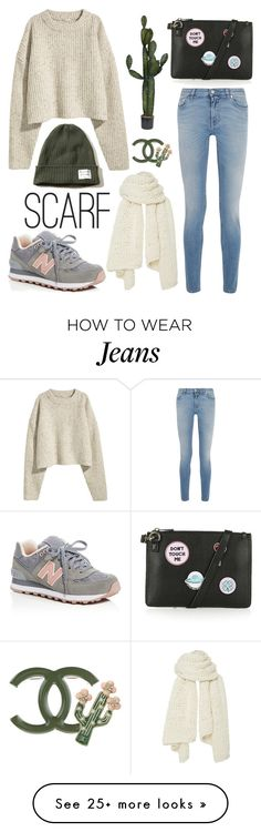 """""""Untitled #307"""" by mydntkrl on Polyvore featuring Givenchy, I Love Mr. Mittens, Hollister Co., New Balance, Topshop and Chanel"""