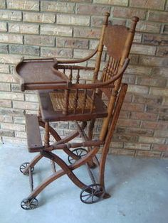 antique high chairs on Pinterest | 31 Pins