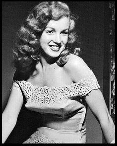 Marilyn Monroe for Love Happy 1949
