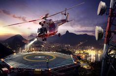 Helicopter by Nikita Pilyukshin