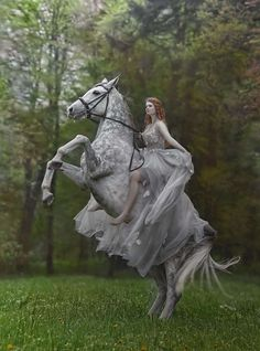 fairy,fairytale-💗 eterowa & her beautiful Eter🦄🌿 Dress from gosiamotas RG agnieszka_lorek fantasy fairy fairytale horses animals girland Cute Horses, Pretty Horses, Horse Love, Beautiful Horses, Animals Beautiful, Beautiful People, Horse Girl Photography, Fantasy Photography, Photography Series