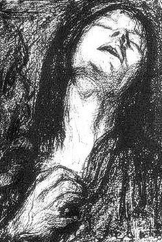 Lasar Segall: Schmerz (1909)