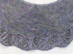 Ravelry: Canyonlands Shawl pattern by verybusymonkey