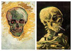 Vincent Van Gogh Collection VIII (Skull)