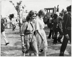 July 26, 1981: Lady Diana Spencer with Sarah Ferguson at the Imperial International Polo Match for the Silver Jubilee Cup with England versus Spain at the Guards Polo Club, Windsor.