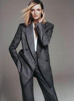 Harper's Bazaar - The Shape of Things | Editorial Credits: Paola Kudacki - Photographer;  Brana Wolf - Fashion Editor/Stylist;  Teddy Charles - Hair Stylist;  Frank B - Makeup Artist
