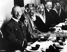 Faisal I of Iraq*20.05.1883-+1921-1933 King of IraqSigning of the... News Photo | Getty Images