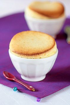 White Chocolate & Meyer Lemon Souffles