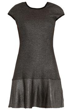 Metallic Flare Skirt Dress By KAGE