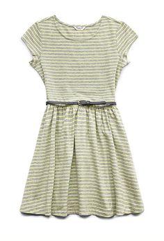 Totally Sweet Striped Dress (Kids) | FOREVER21 girls - 2000127303