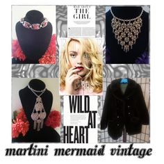 """""""Wild At Heart"""" by martinimermaid ❤ liked on Polyvore featuring Kershaw and vintage"""