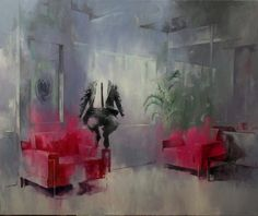 The 2012 by Szabolcs Szolnoki. Medium: Oil on canvas; Tags: New Figuration; Abstract Expressionism, Abstract Art, Oil On Canvas, Contemporary Art, Artwork, Artist, Painting, Money, Collection