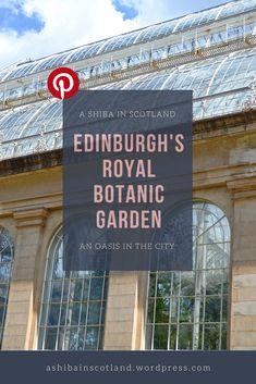 Gardening In The City Edinburgh's Royal Botanic Garden, an oasis in the heart of the city Beat The Heat, In The Heart, Botanical Gardens, Edinburgh, Gardening Tips, Oasis, Scotland, Urban, Shiba